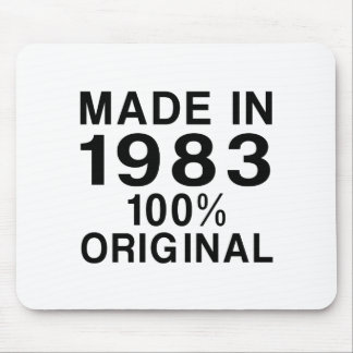 Made In 1983 Mouse Pad