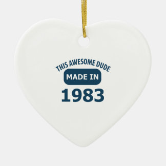 Made in 1983 ornament