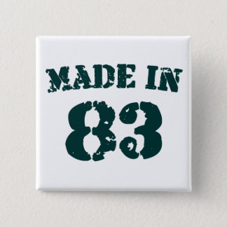 Made In 1983 Pinback Button