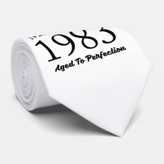 Made In 1983 Tie