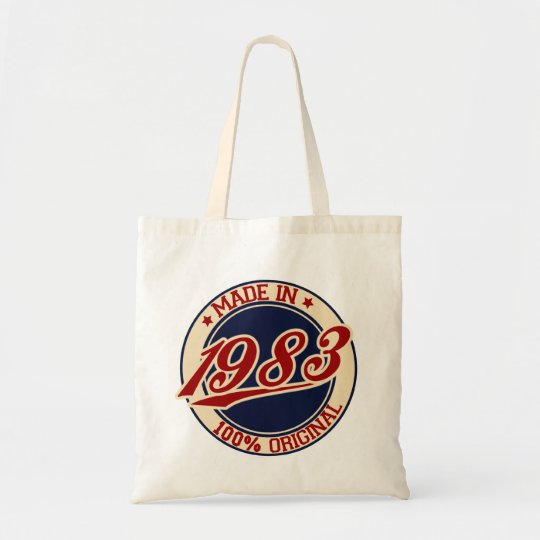 Made In 1983 Tote Bag