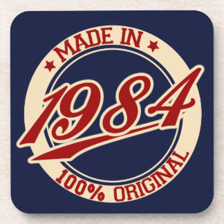 Made In 1984 Drink Coaster