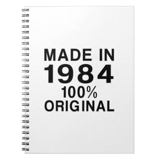 Made In 1984 Notebook