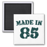 Made In 1985 2 Inch Square Magnet
