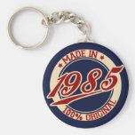 Made In 1985 Key Chain