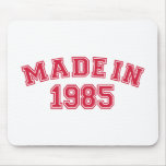 Made in 1985 mouse pad