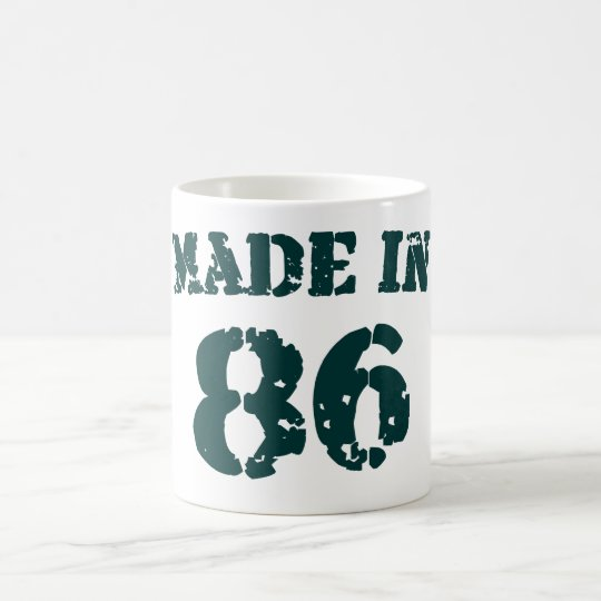 Made In 1986 Coffee Mug