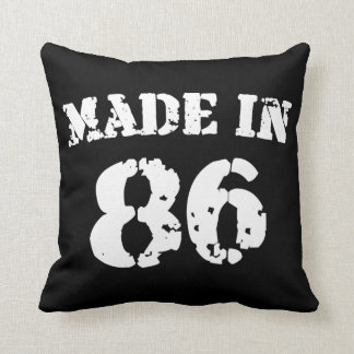 Made In 1986 Pillows