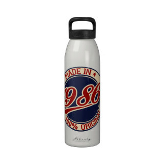 Made In 1986 Drinking Bottles