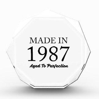 Made In 1987 Award
