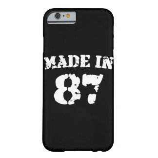 Made In 1987 iPhone 6/6s Barely There iPhone 6 Case