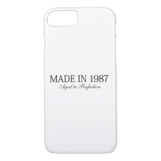 Made in 1987 iPhone 7 case