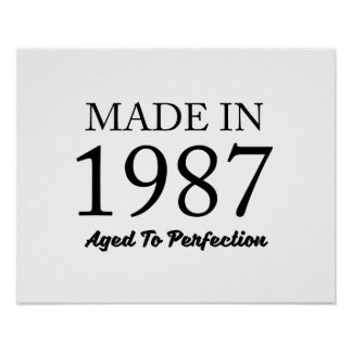 Made In 1987 Poster