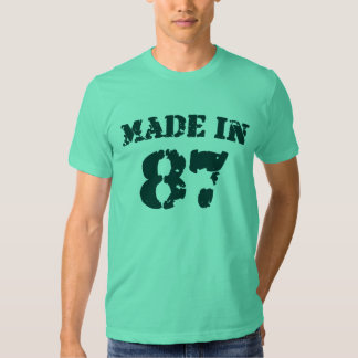 Made In 1987 T Shirt