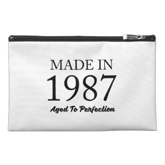 Made In 1987 Travel Accessory Bag
