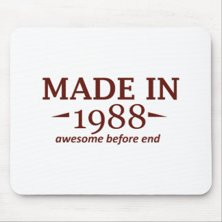 Made in 1988 mouse pad