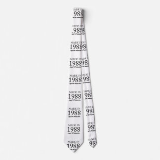 Made In 1988 Tie
