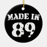 Made In 1989 Ceramic Ornament