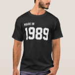 Made in 1989 playera