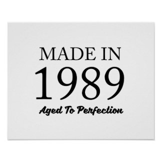 Made In 1989 Poster