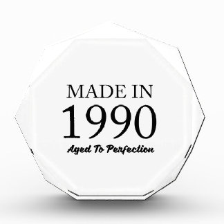 Made In 1990 Acrylic Award