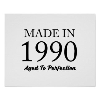 Made In 1990 Poster