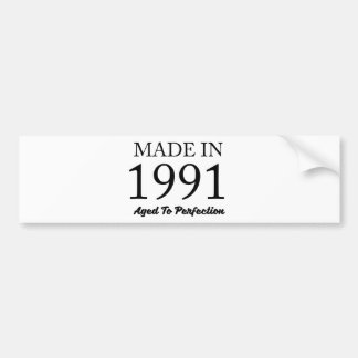 Made In 1991 Bumper Sticker
