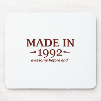 Made in 1992 mousepads