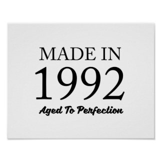 Made In 1992 Poster
