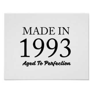 Made In 1993 Poster