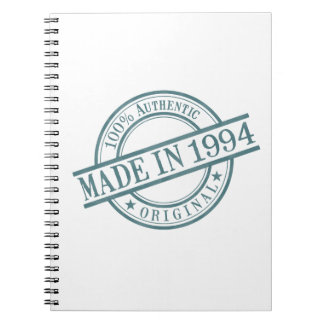 Made in 1994 notebook