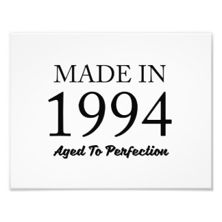 Made In 1994 Photo Print