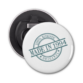 Made in 1994 button bottle opener