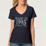 MADE in 1995 All ORIGINAL Parts Tee
