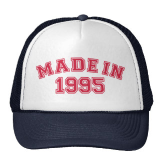 Made in 1995 mesh hat