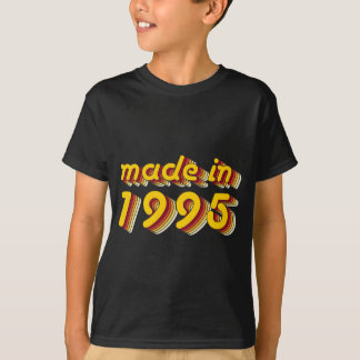 Made in 1995 (Yellow&Red) T-Shirt