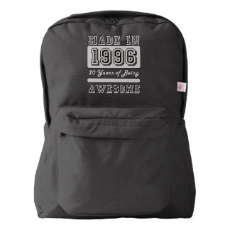 Made in 1996 backpack