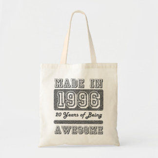 Made in 1996 tote bag