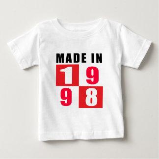 Made In 1998 Birthday Designs Tshirt