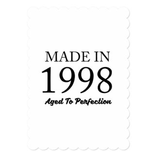Made In 1998 Card