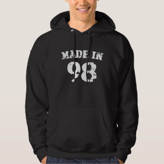 Made In 1998 Hooded Pullover