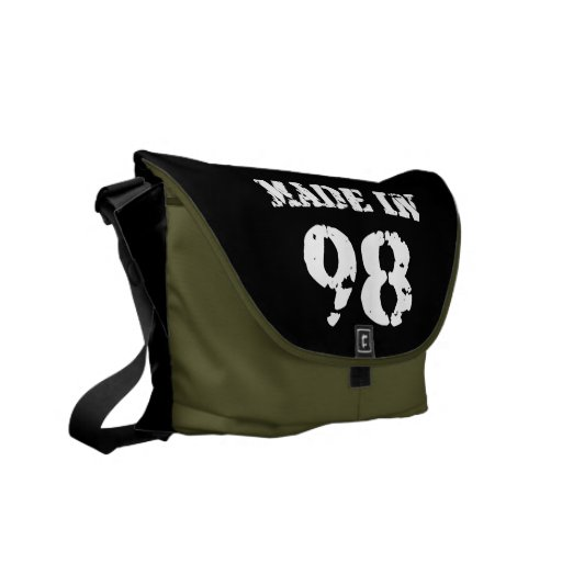 Made In 1998 Messenger Bags