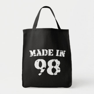 Made In 1998 Tote Bag