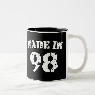 Made In 1998 Two-Tone Coffee Mug