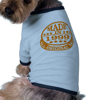 Made in 1999 all original parts pet tshirt