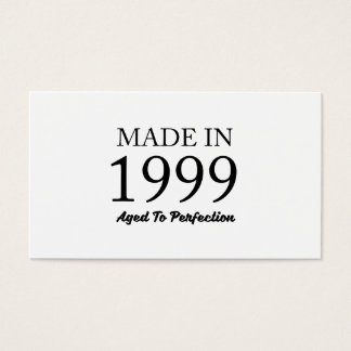 Made In 1999 Business Card