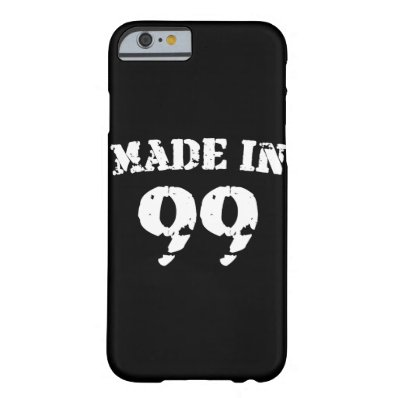 Made In 1999 iPhone 6/6s Barely There iPhone 6 Case