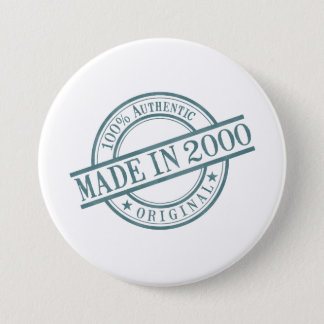 Made in 2000 button