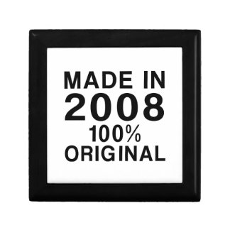 Made In 2008 Gift Box