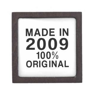 Made In 2009 Keepsake Box